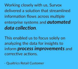 Qualtrics Survox IVR customer Quote